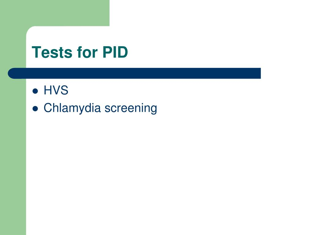 Tests for PID