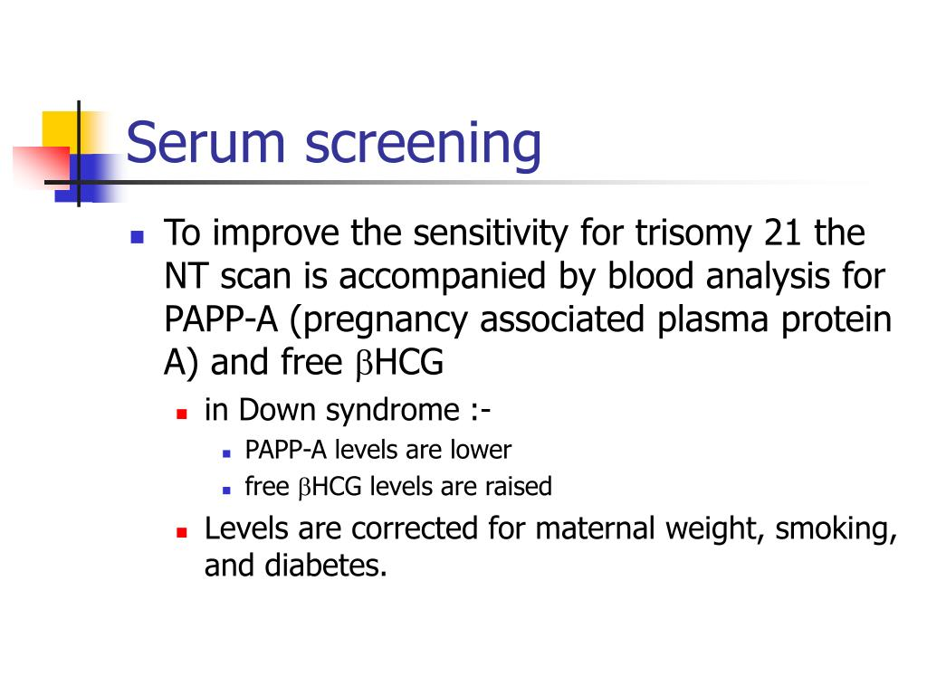 Serum screening