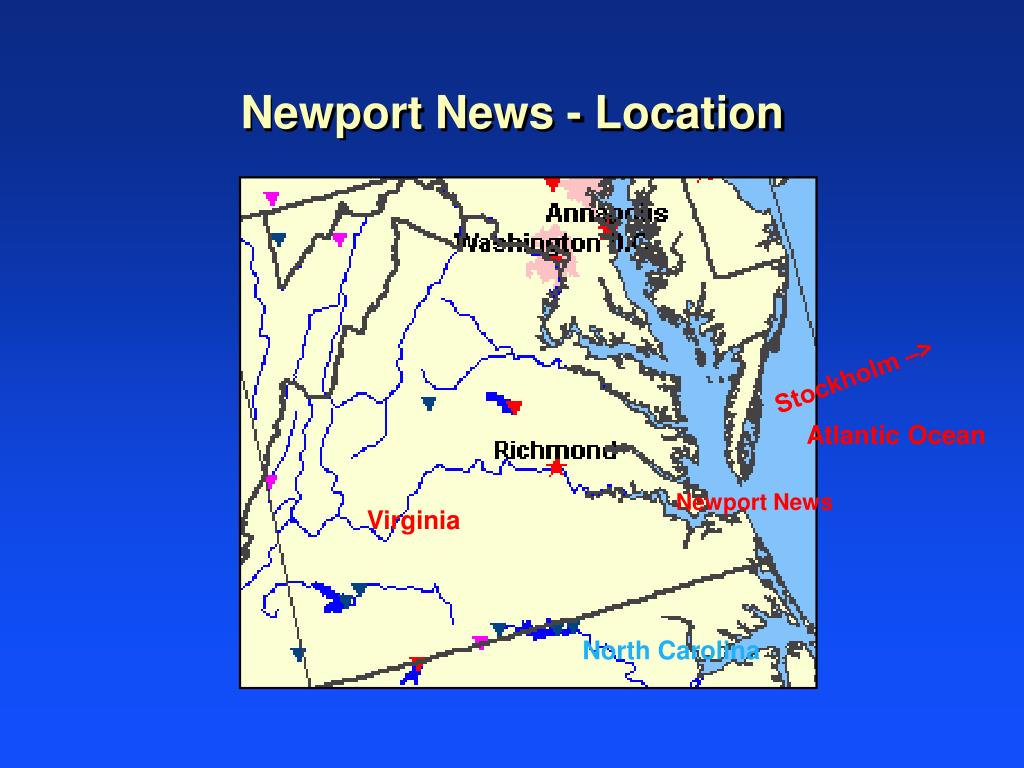 Newport News - Location
