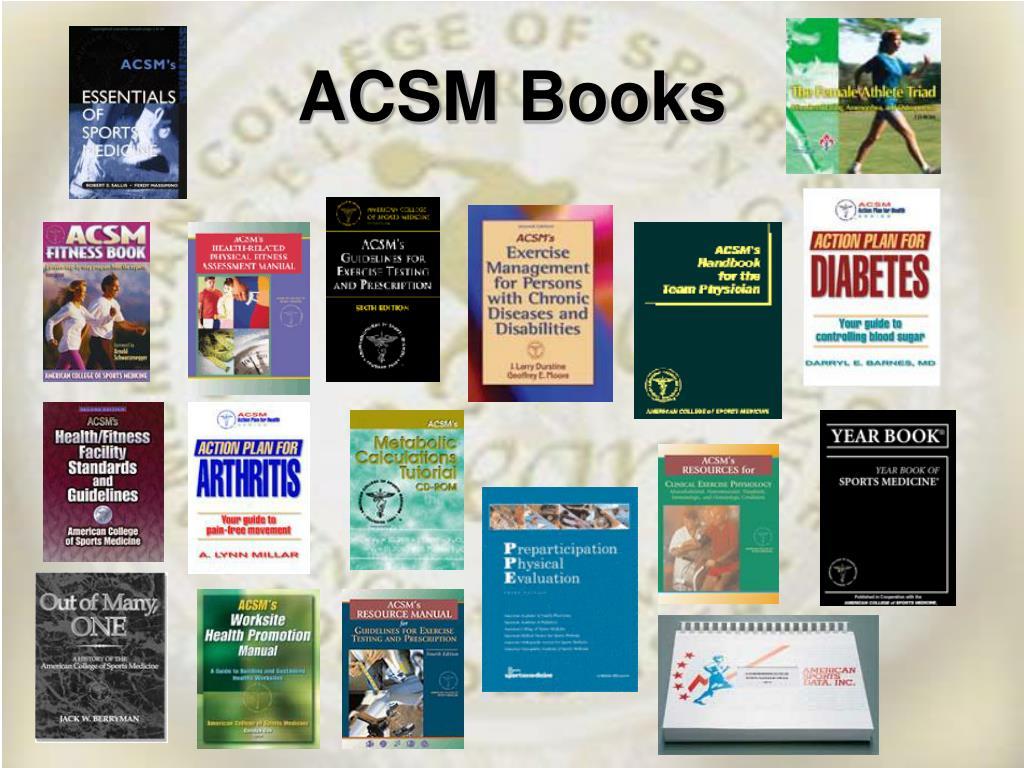 ACSM Books