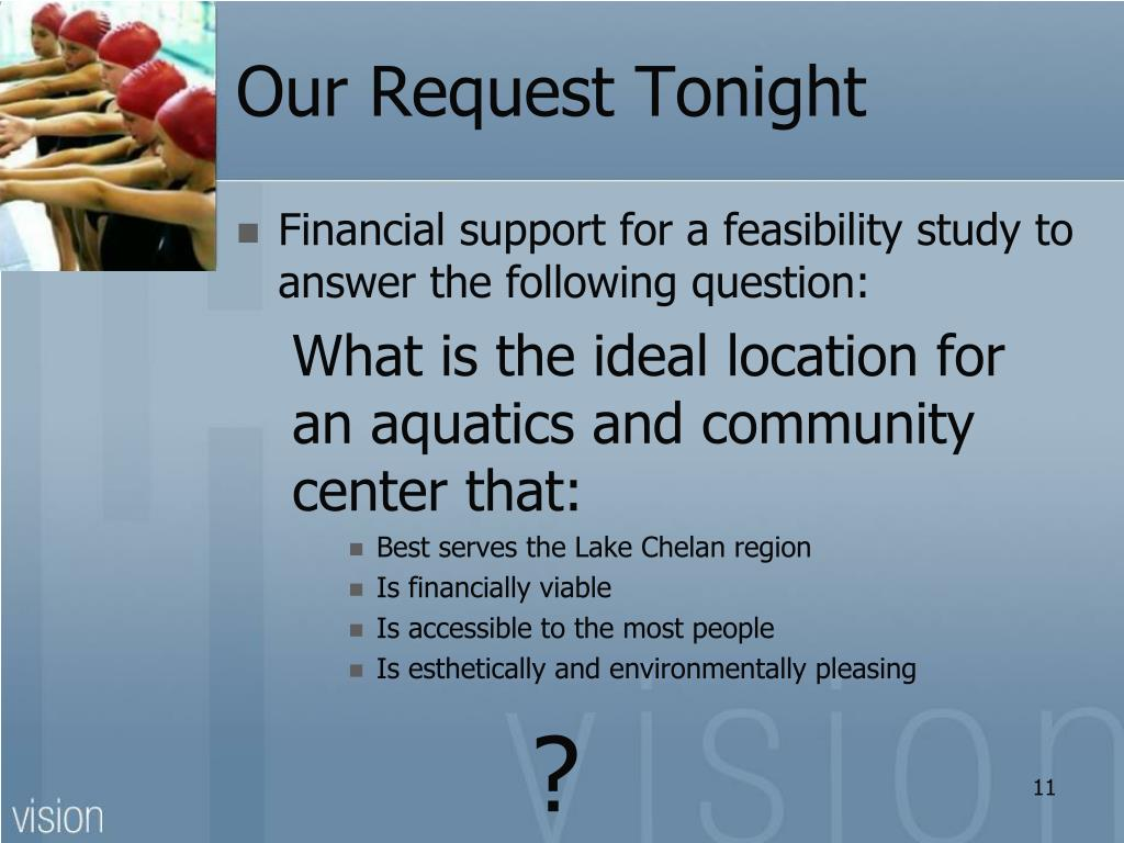 Our Request Tonight