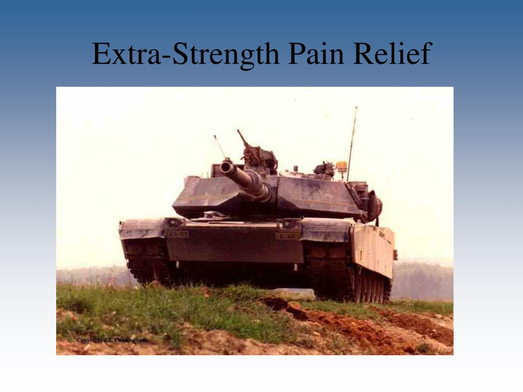 Extra-Strength Pain Relief