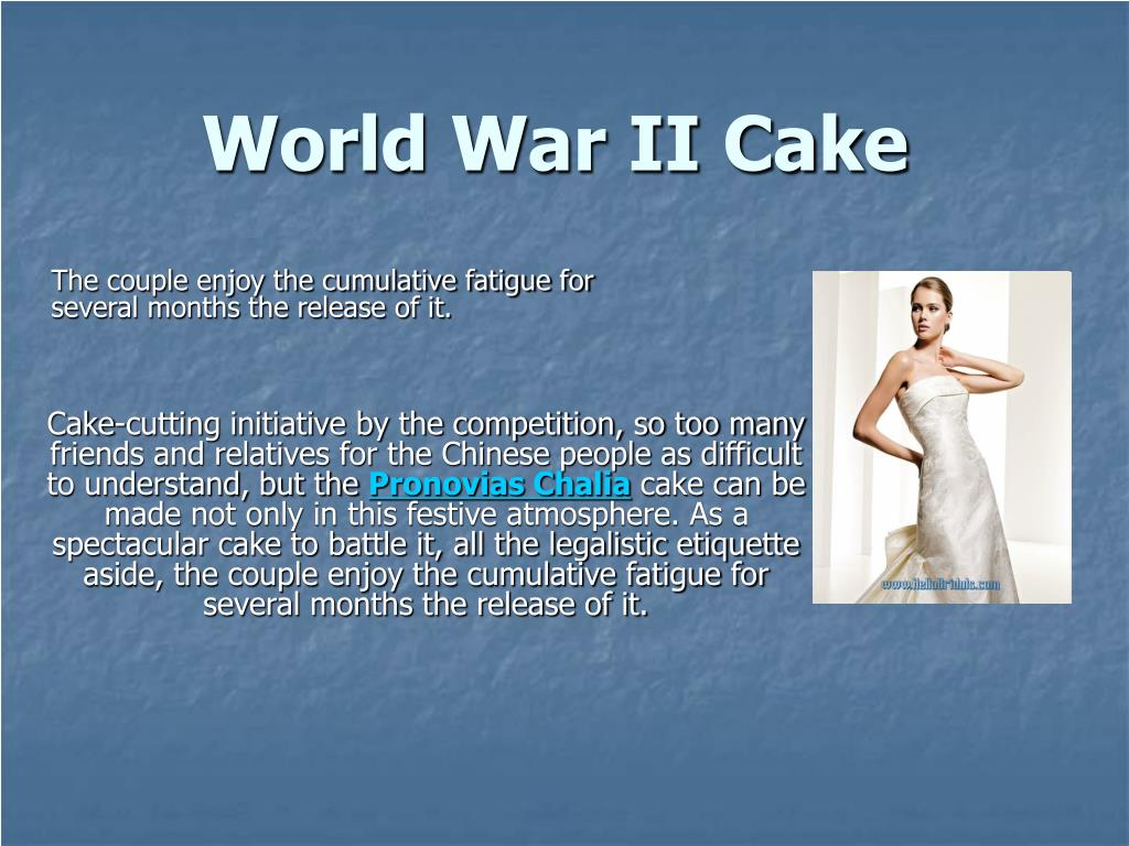 world war ii cake