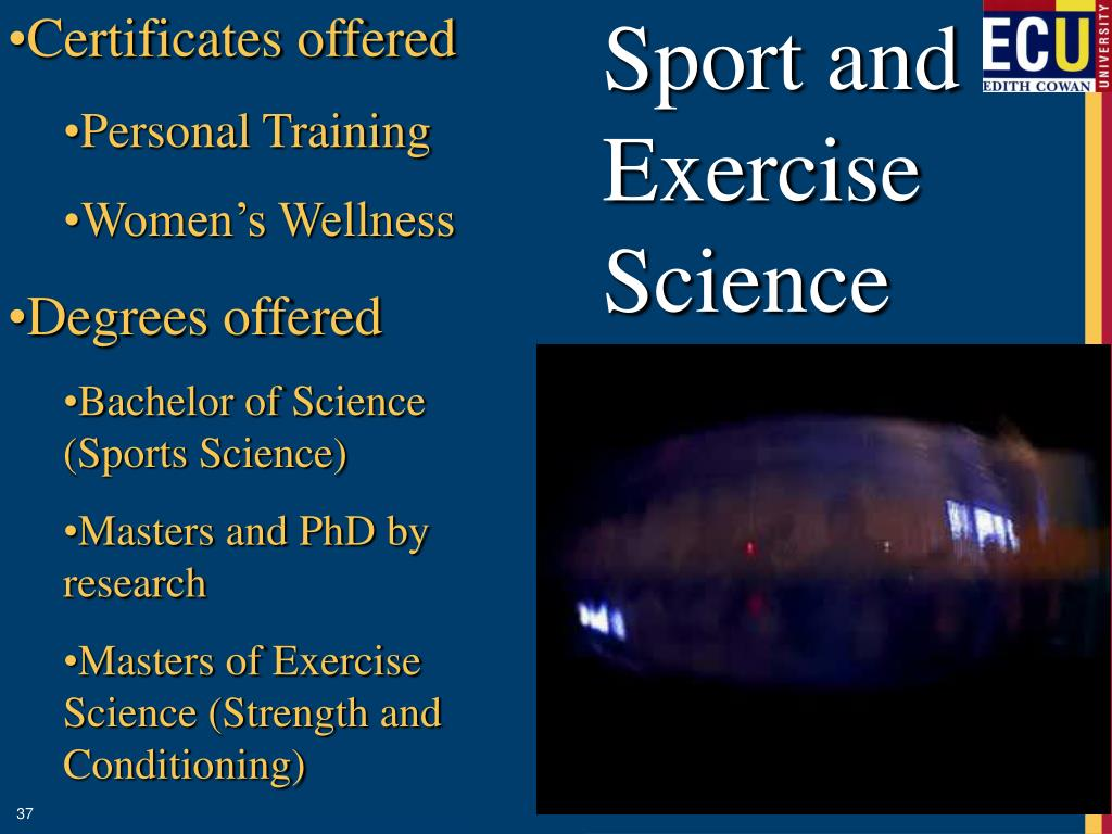 Sport and Exercise Science