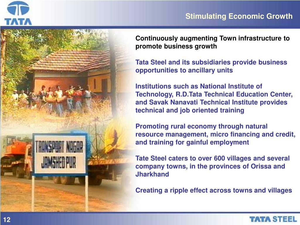 Stimulating Economic Growth
