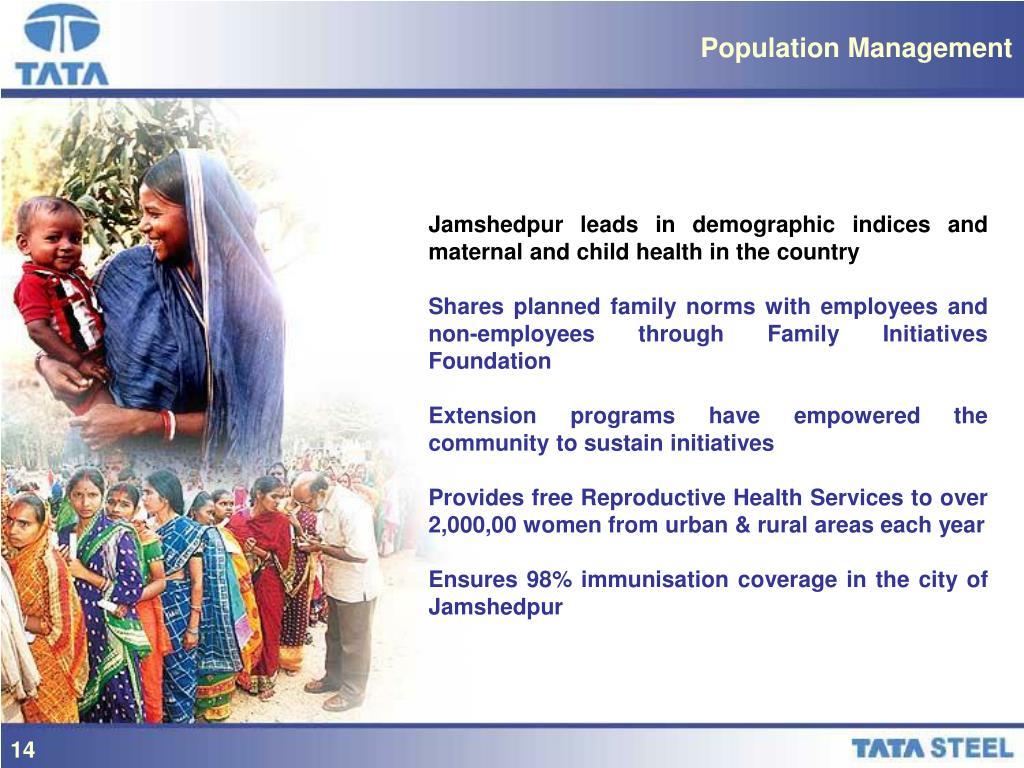 Population Management
