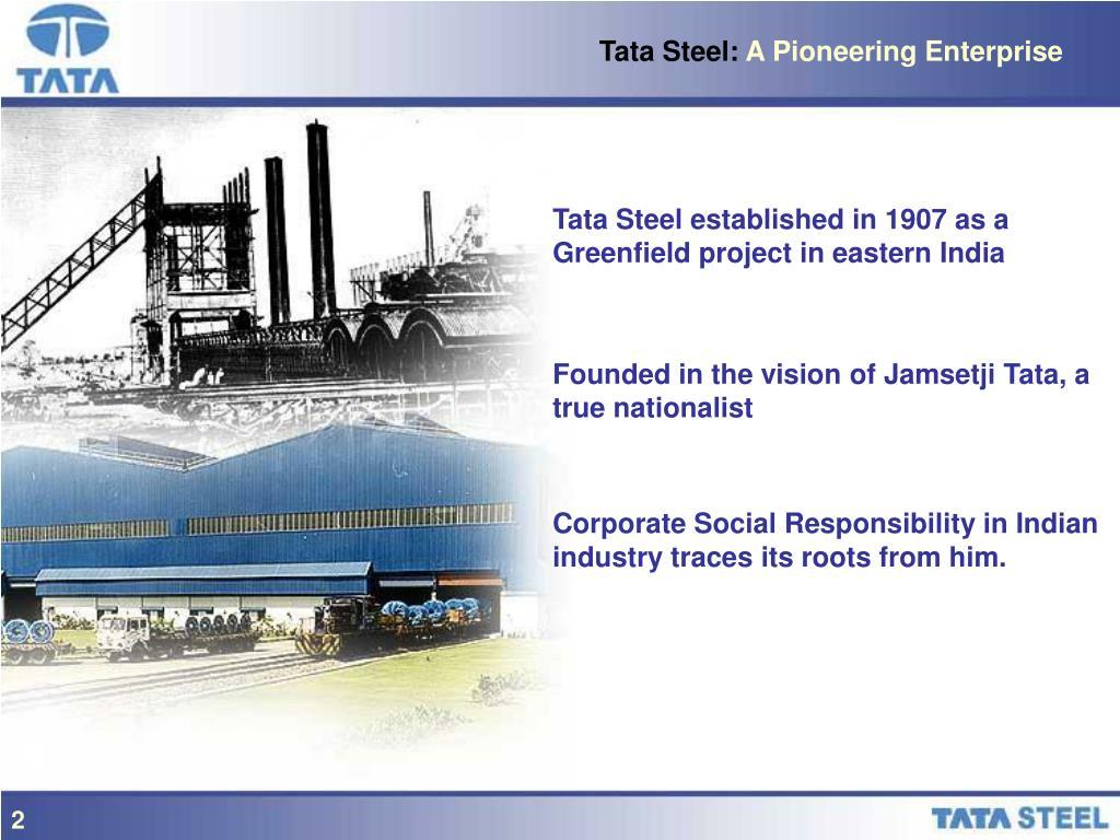 Tata Steel: