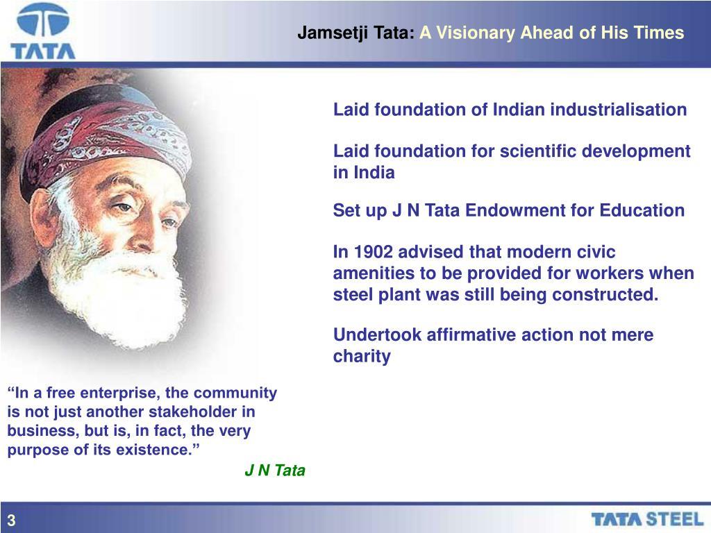 Jamsetji Tata: