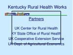 kentucky rural health works
