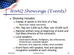 hoaq showings events