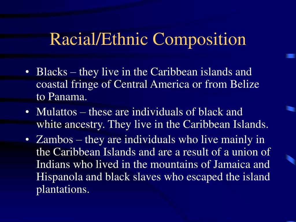 Racial/Ethnic Composition