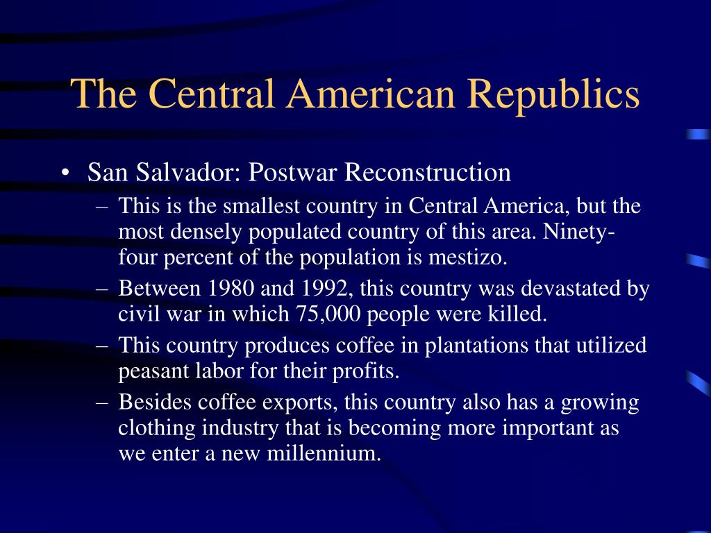 The Central American Republics