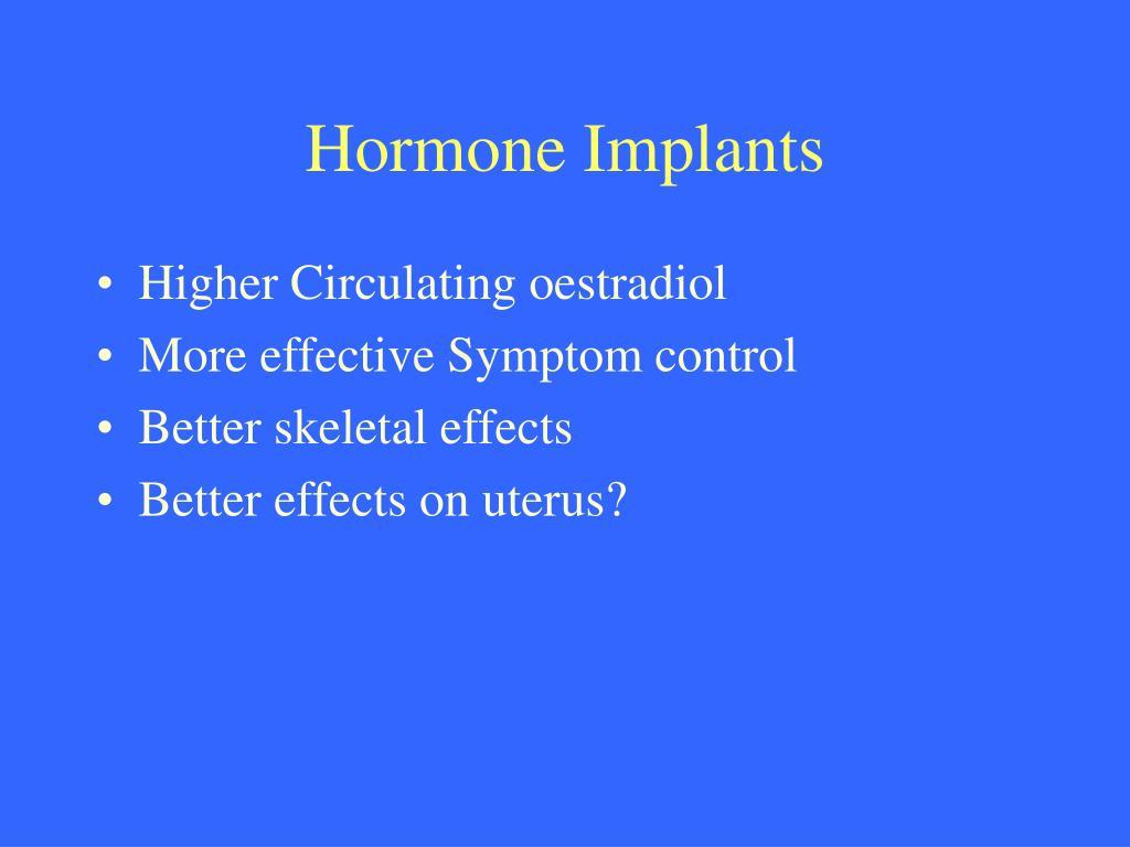 Hormone Implants
