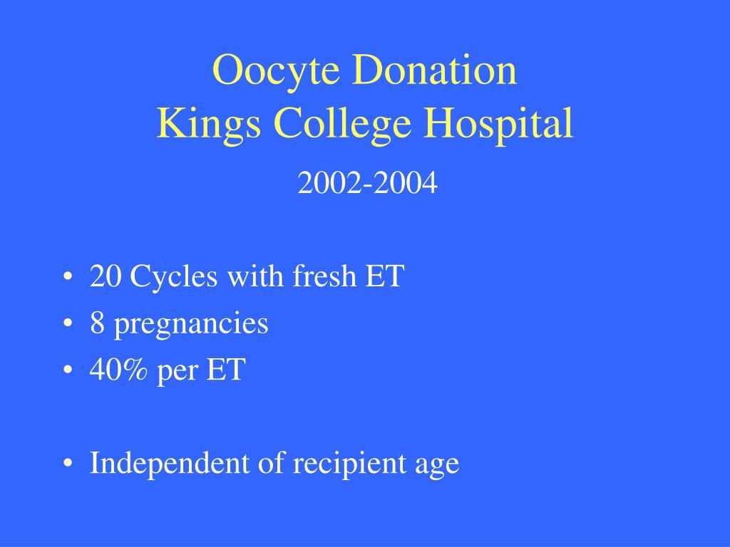 Oocyte Donation
