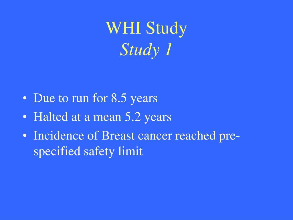 WHI Study