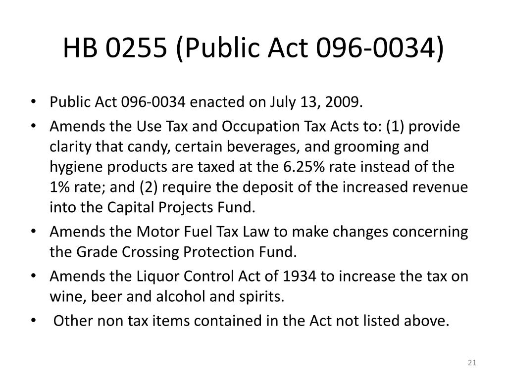 HB 0255 (Public Act 096-0034)