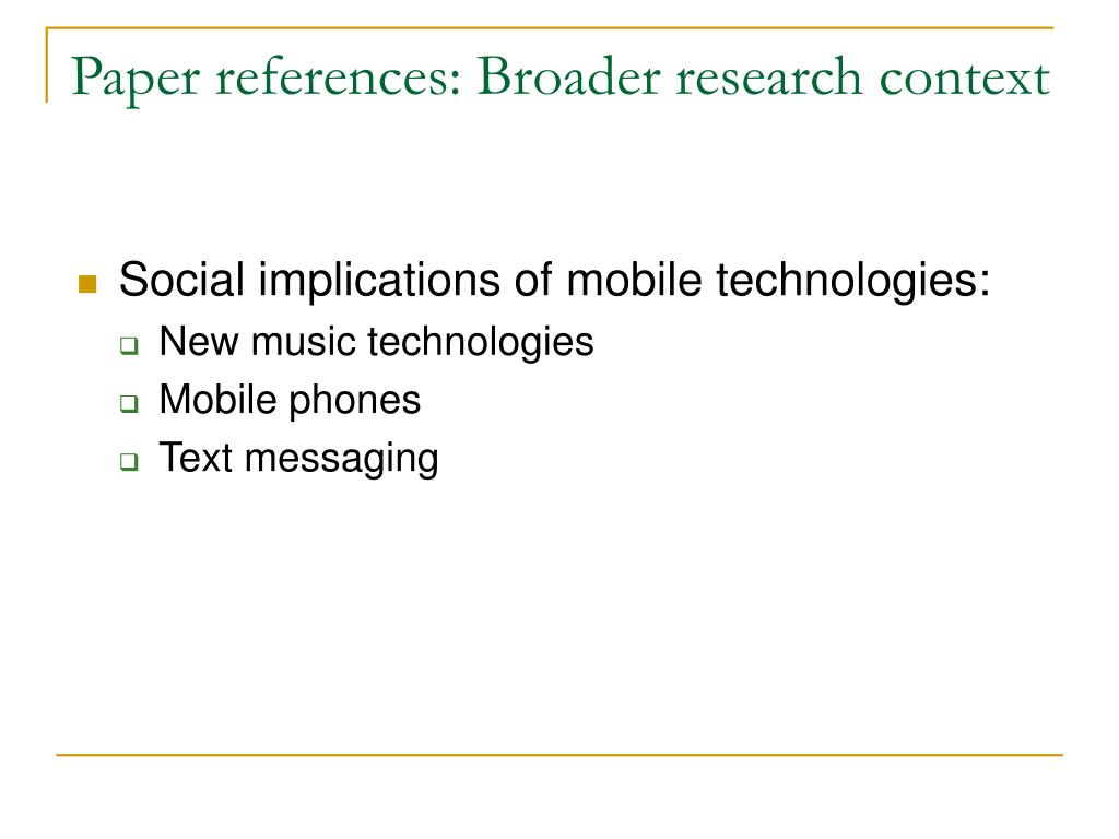 Paper references: Broader research context