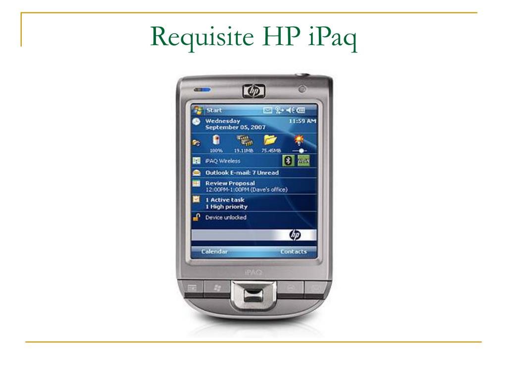 Requisite HP iPaq