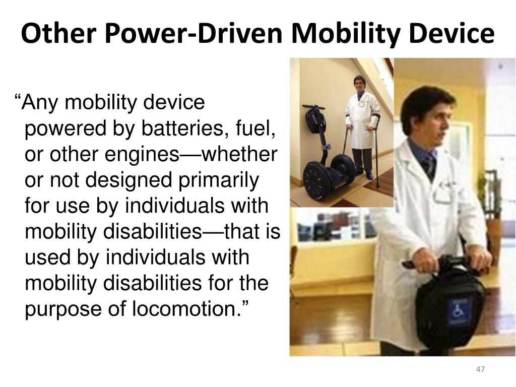 Other Power-Driven Mobility Device