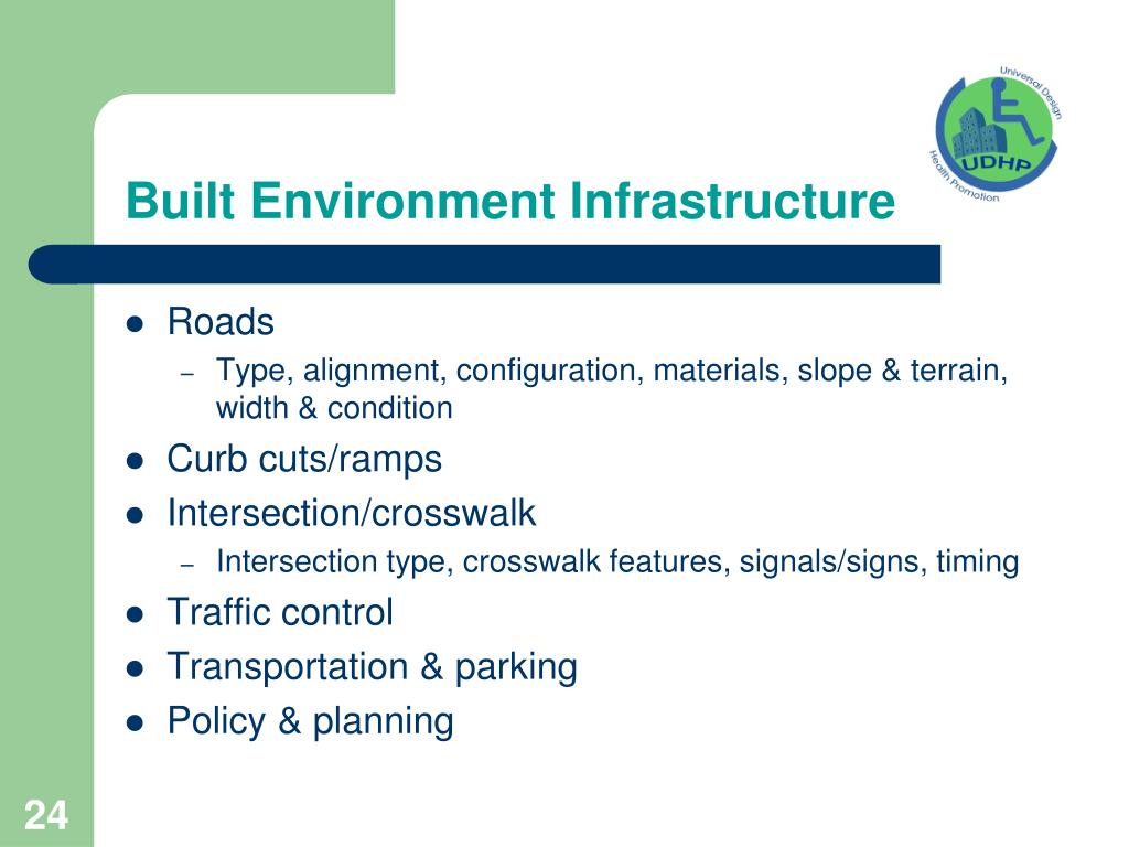 Built Environment Infrastructure