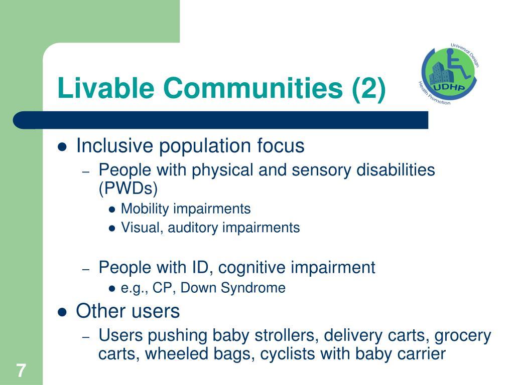 Livable Communities (2)