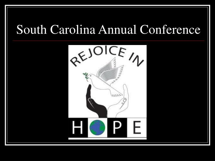 South carolina annual conference l.jpg
