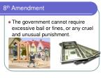 8 th amendment