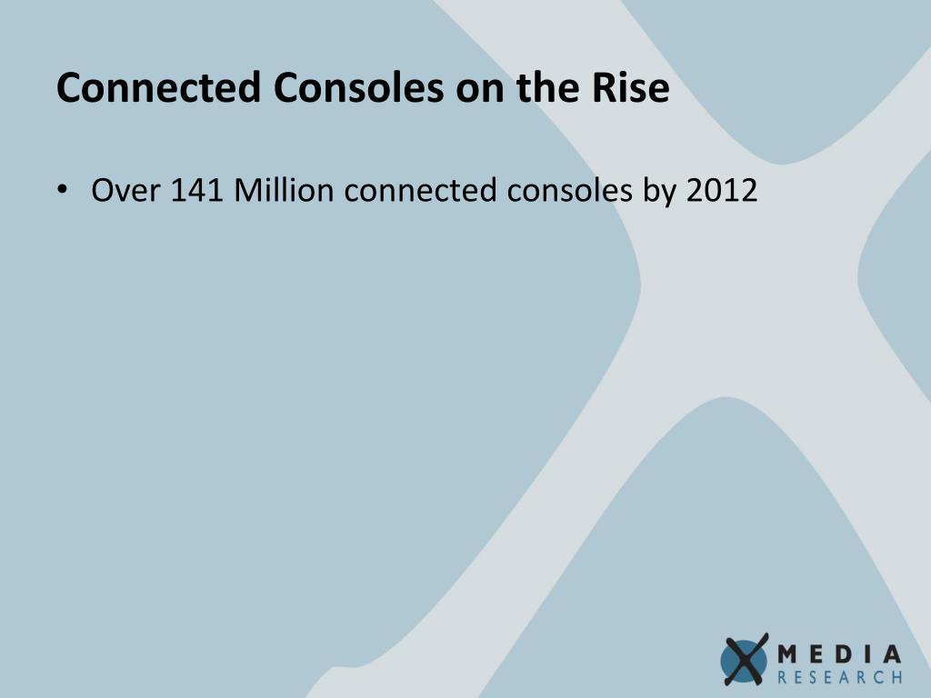 Connected Consoles on the Rise