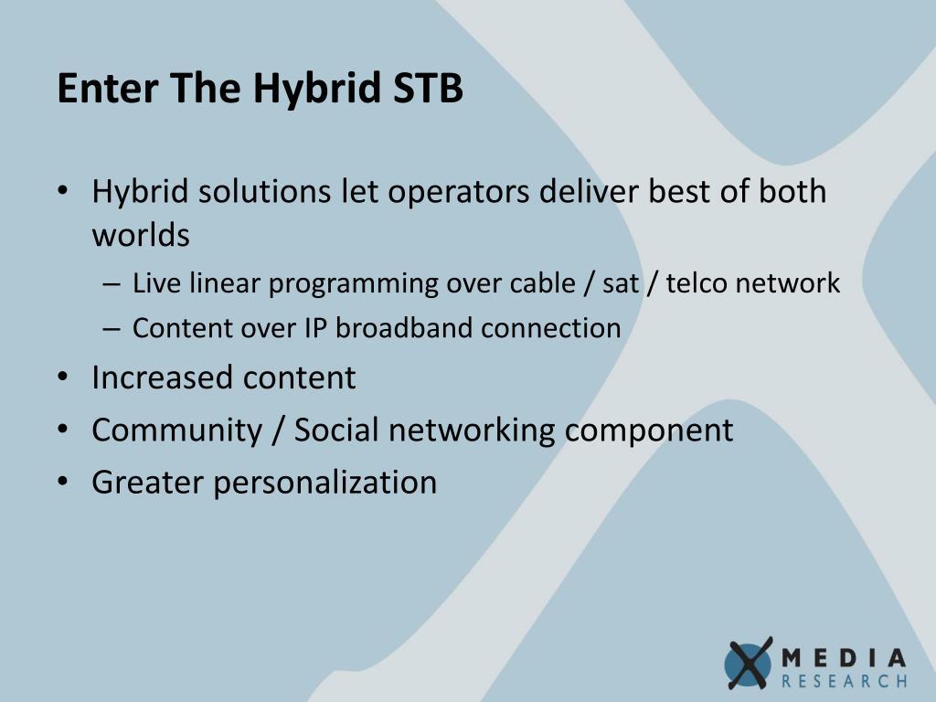 Enter The Hybrid STB