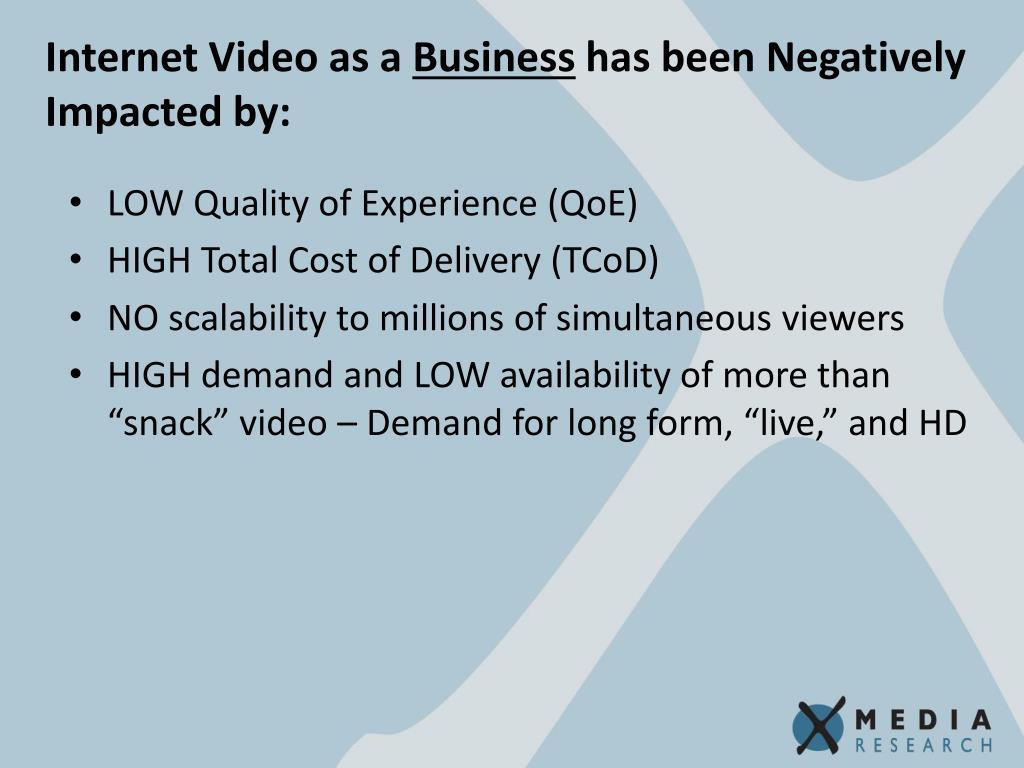 Internet Video as a