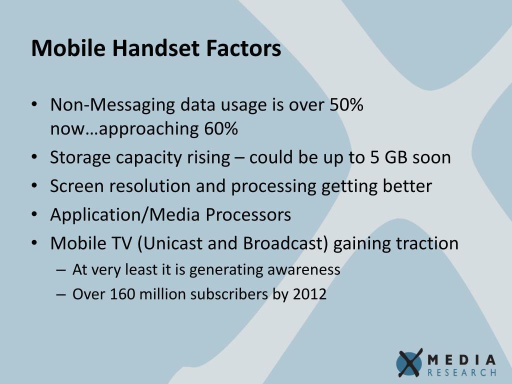 Mobile Handset Factors