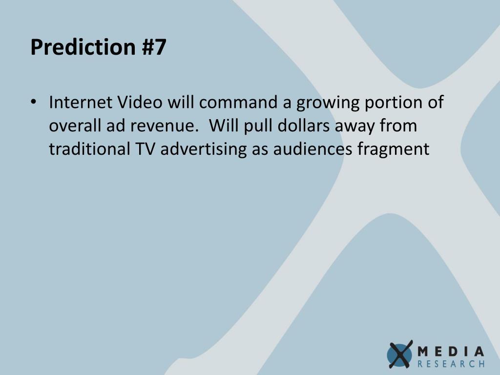 Prediction #7