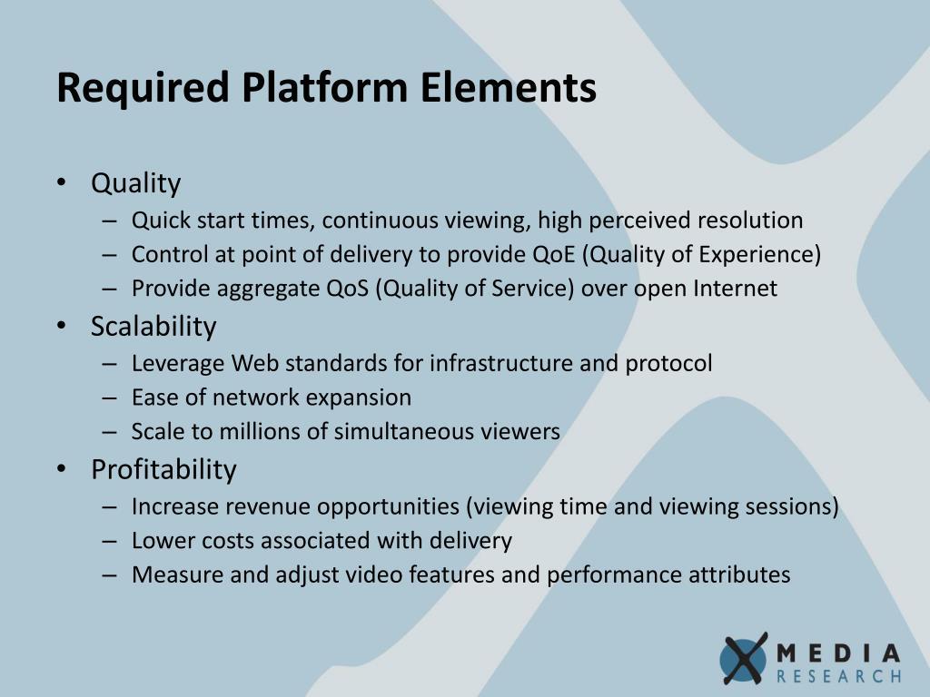 Required Platform Elements