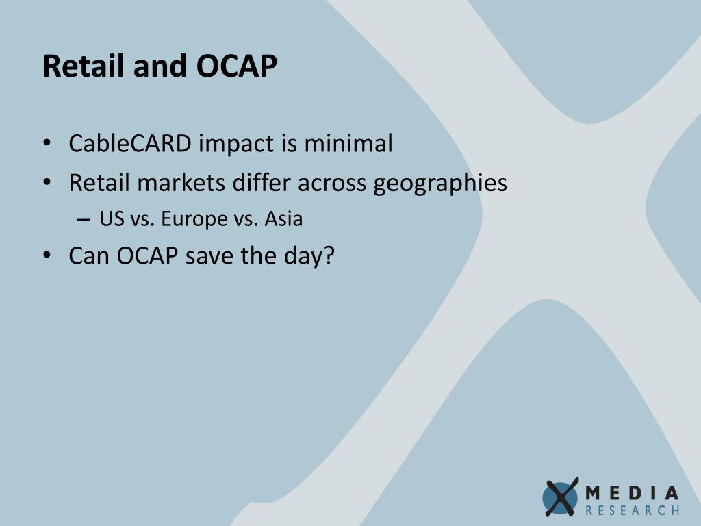 Retail and OCAP