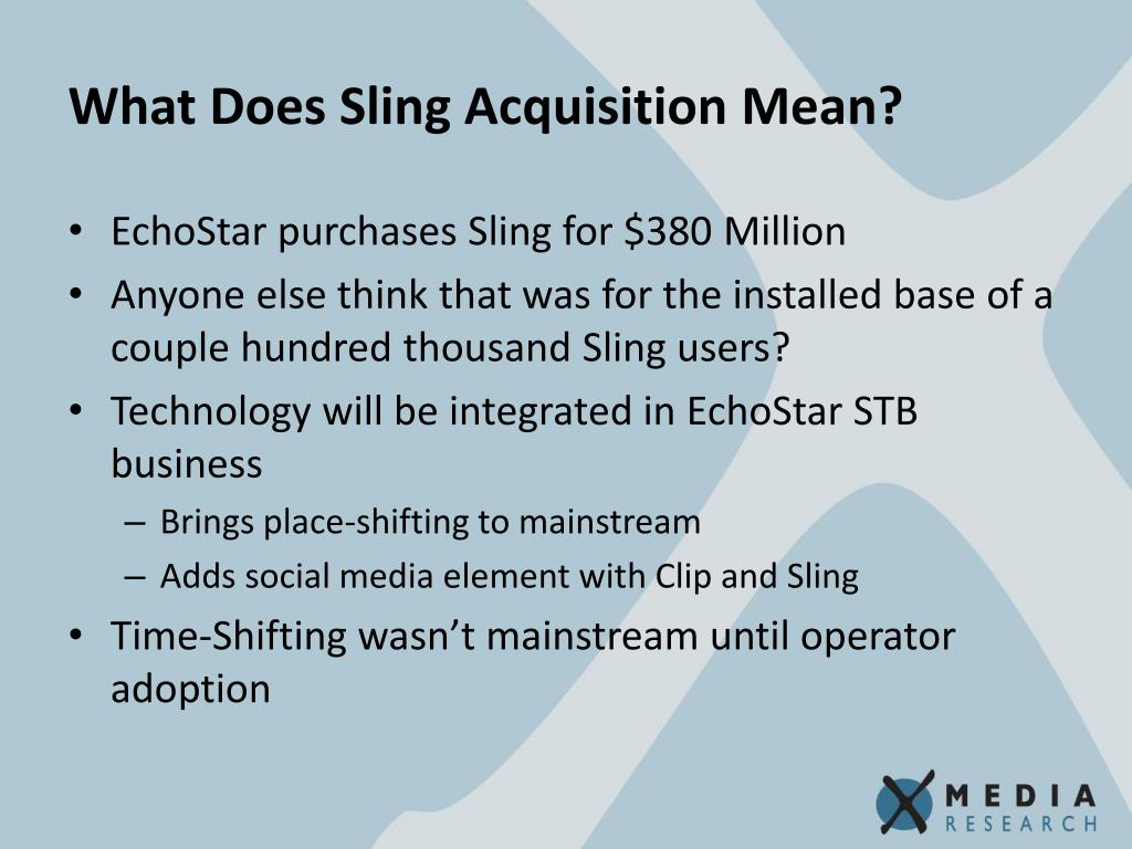 What Does Sling Acquisition Mean?