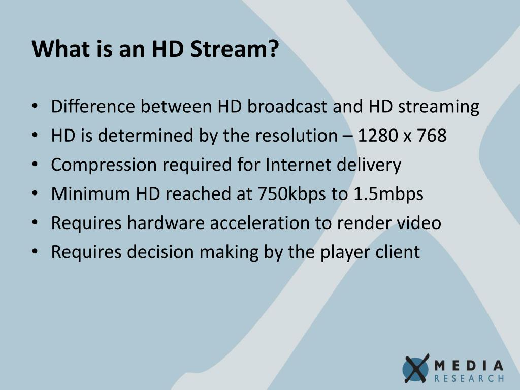 What is an HD Stream?
