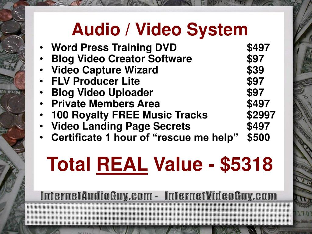 Audio / Video System