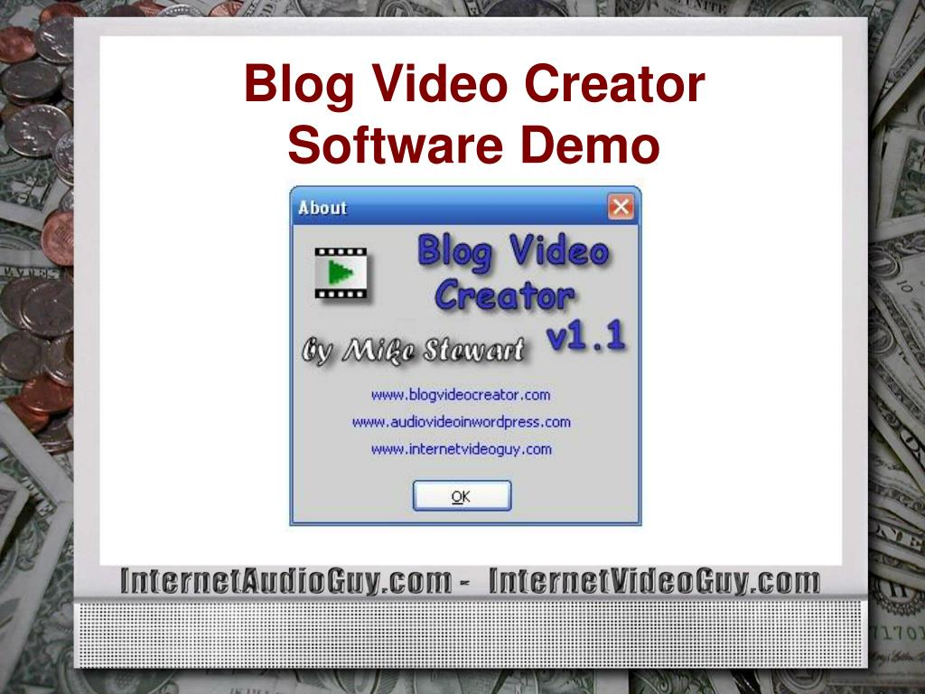 Blog Video Creator Software Demo