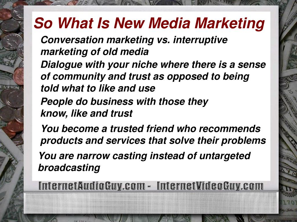 So What Is New Media Marketing