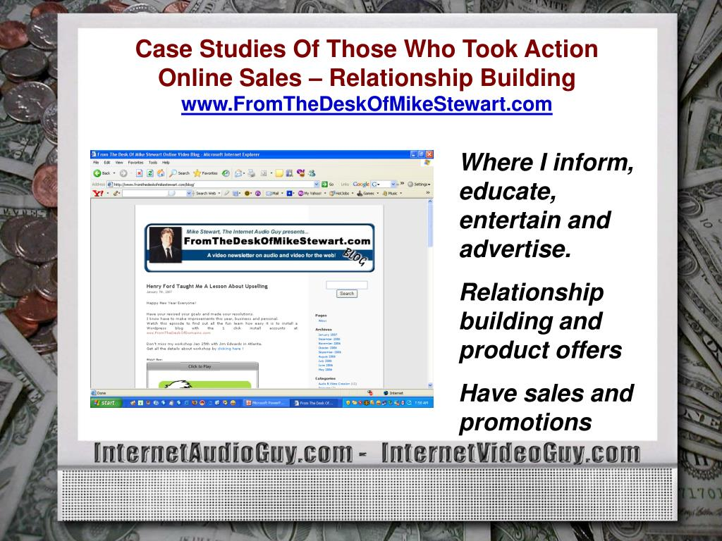 Case Studies Of Those Who Took Action