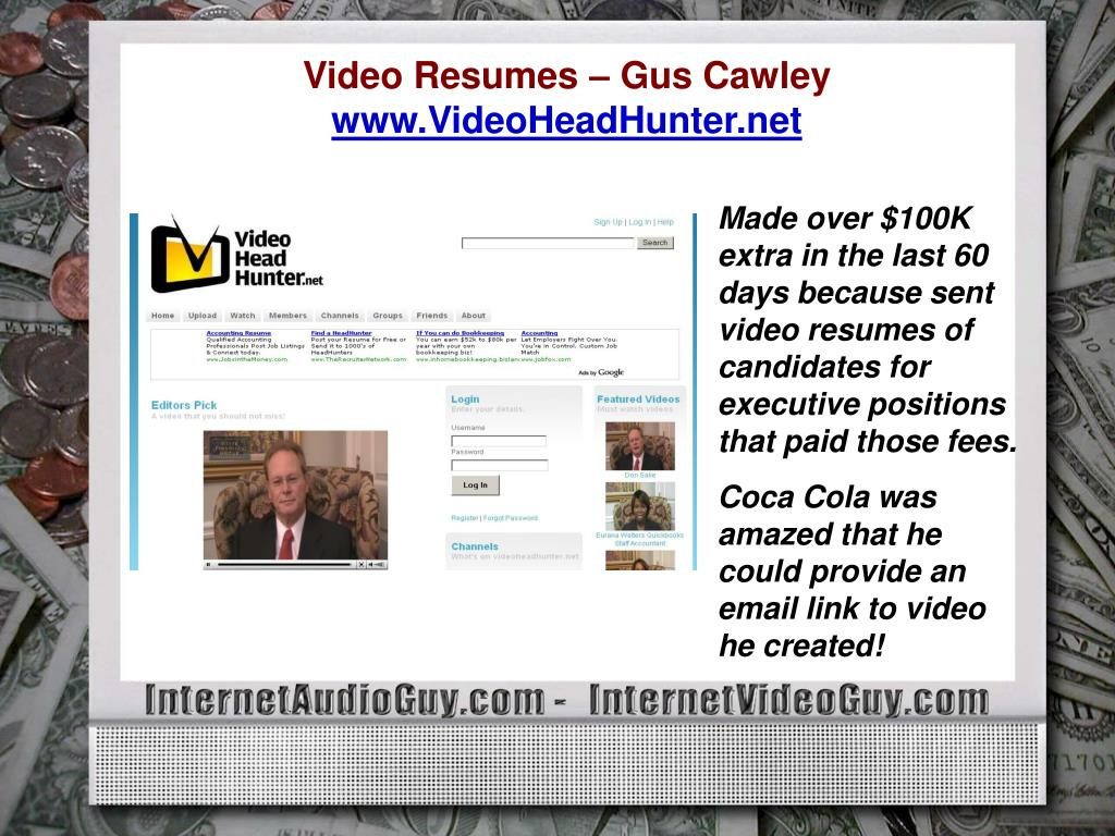 Video Resumes – Gus Cawley