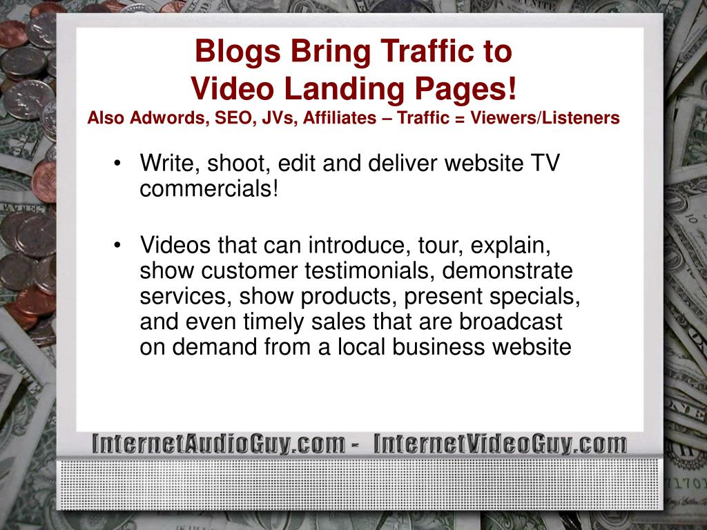 Blogs Bring Traffic to