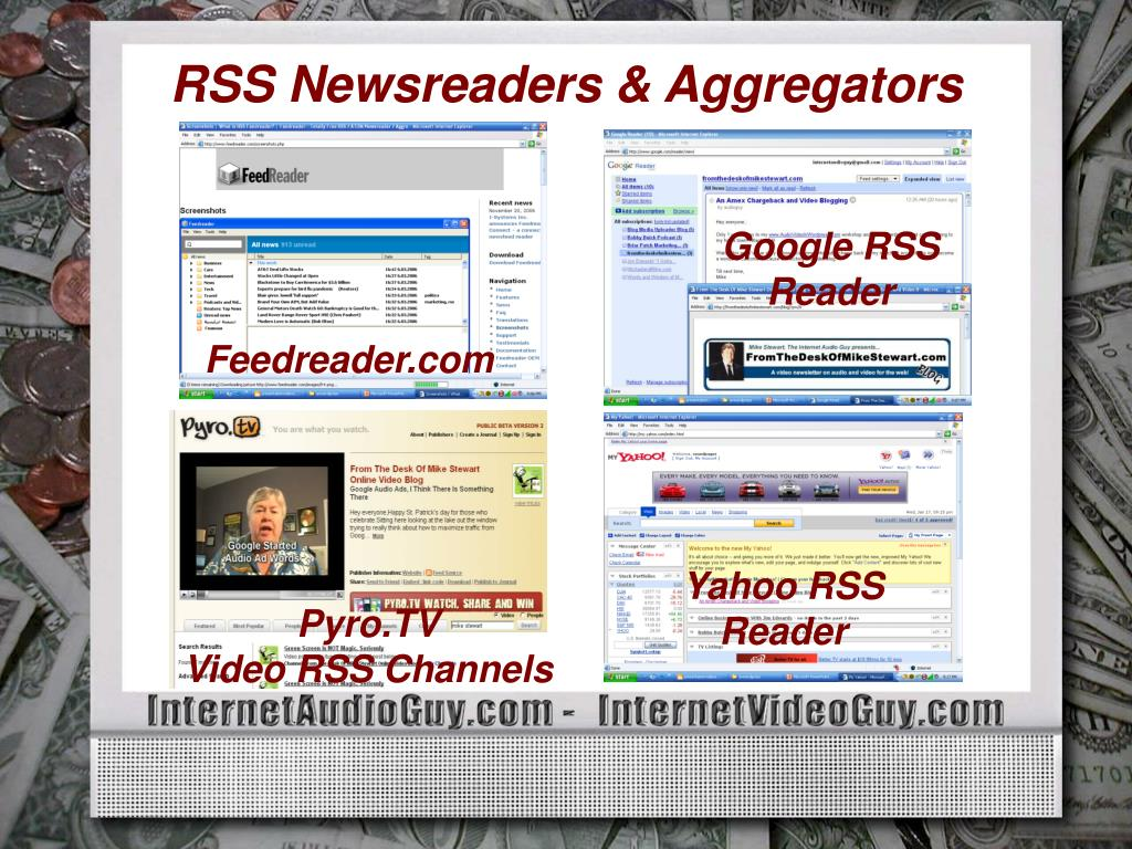 RSS Newsreaders & Aggregators