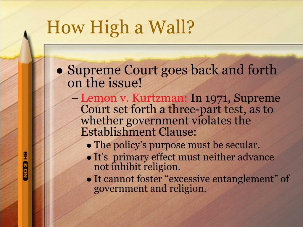How High a Wall?