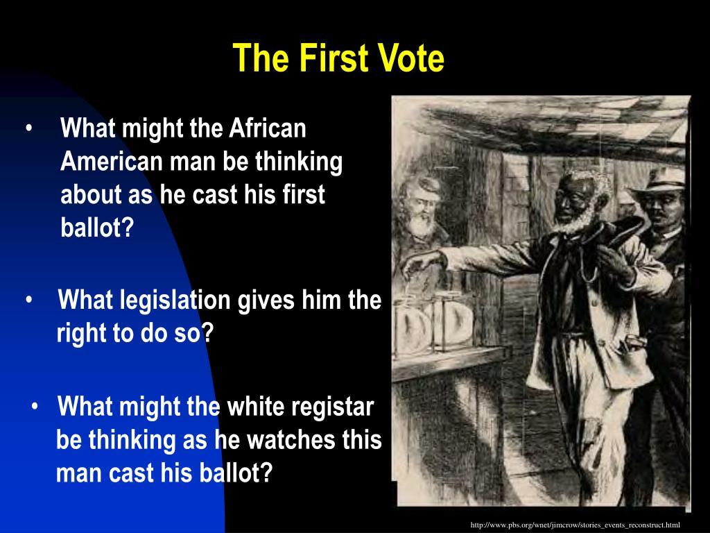 The First Vote