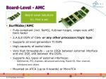 board level amc
