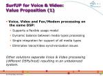 surfup for voice video value proposition 1