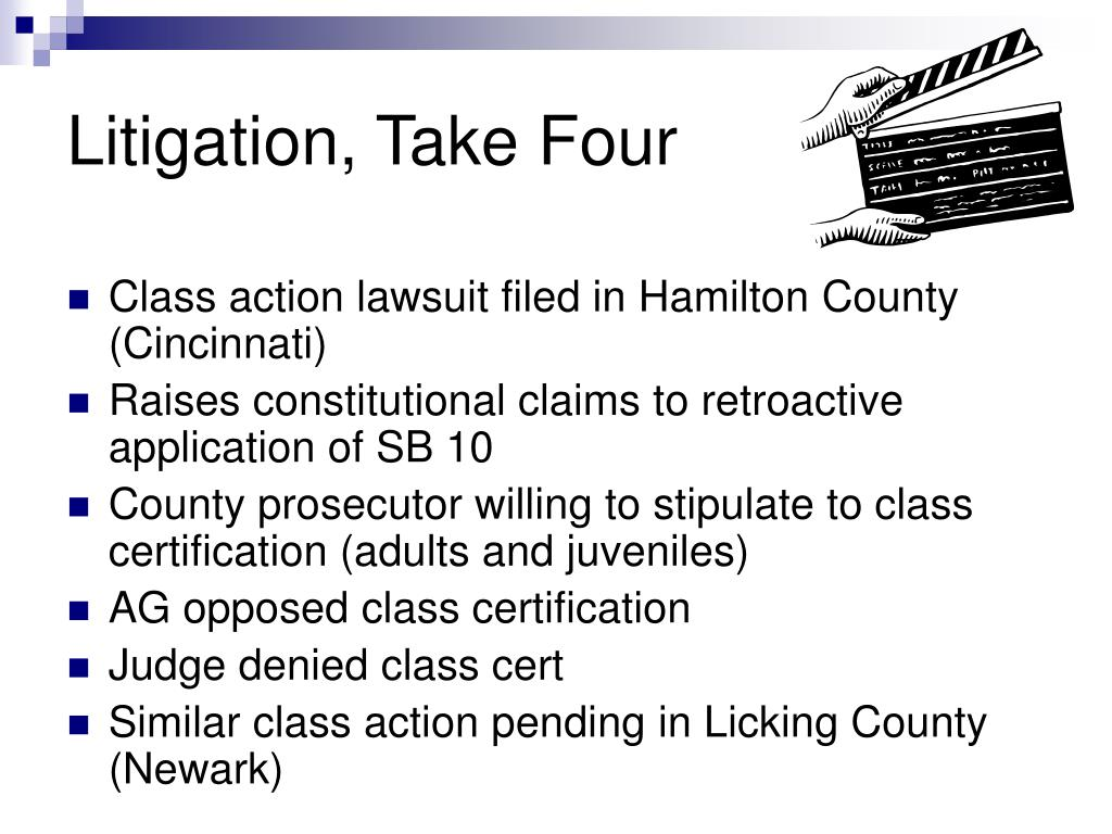 Litigation, Take Four