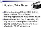 litigation take three