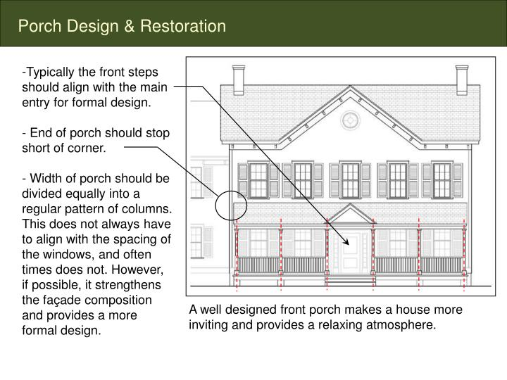 Porch Design & Restoration